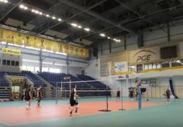 Reprezentacja Polski kadetów trenuje w hali Energia