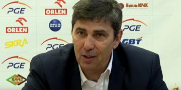 Konferencja prasowa po meczu PGE Skra - BBTS Bielsko-Biała