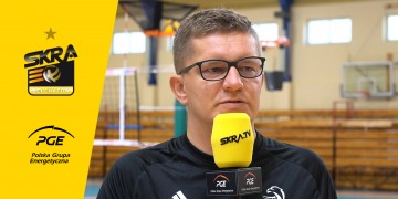 Robert Kaźmierczak o swojej pracy podczas mistrzostw Europy. A co w PGE Skrze?