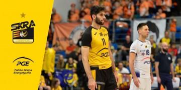 Siatkarze PGE Skry przegrali pierwszy mecz w nowym sezonie.