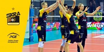 PGE Skra odegrała się w Lubinie! Siódme zwycięstwo z rzędu!