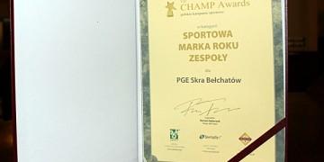 PGE Skra sportową marką roku!