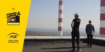 Żółto-Czarne Dni z PGE Skrą: Dzień z Karolem Kłosem w Elektrowni Bełchatów